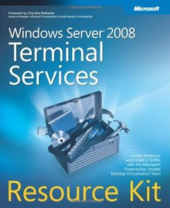 Windows Server 2008 Terminal Services Resource Kit (Paperback)-cover