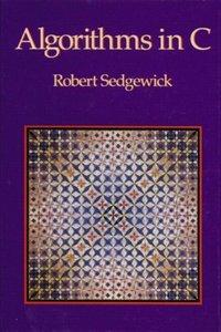 Algorithms in C (paperback)-cover