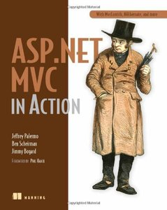 ASP.Net MVC in Action (Paperback)-cover