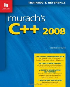 Murach's C++ 2008 (Paperback)-cover