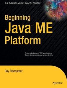 Beginning Java ME Platform (Paperback)-cover