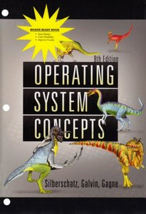 Operating System Concepts Binder Ready Version, 8/e-cover