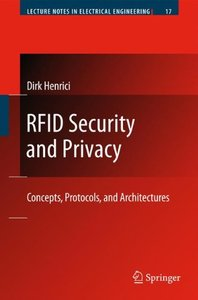 RFID Security and Privacy: Concepts, Protocols, and Architectures (Hardcover)-cover
