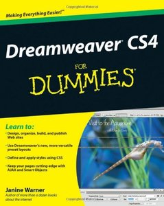 Dreamweaver CS4 For Dummies-cover
