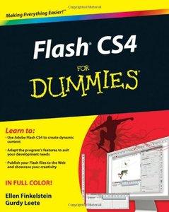 Flash CS4 For Dummies-cover