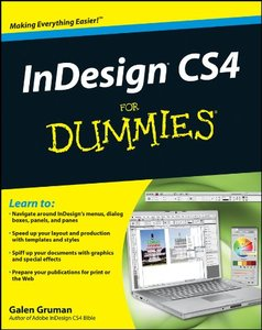 InDesign CS4 For Dummies-cover