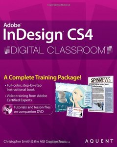 InDesign CS4 Digital Classroom (Paperback)-cover