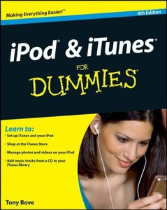 iPod & iTunes For Dummies, 6/e (Paperback)-cover