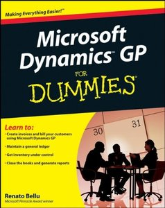 Microsoft Dynamics GP For Dummies-cover
