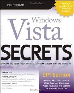 Windows Vista Secrets, SP1 Edition, 2/e-cover