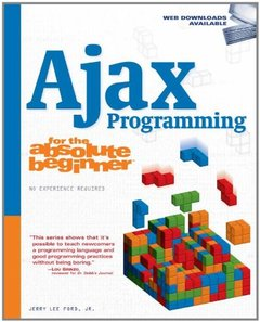 Ajax Programming for the Absolute Beginner (Paperback)-cover