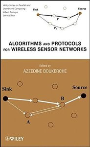 Algorithms and Protocols for Wireless Sensor Networks (Hardcover)-cover