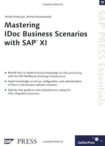 Mastering IDoc Business Scenarios with SAP XI (Paperback)-cover