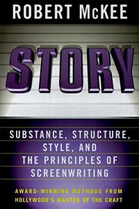 Story: Substance, Structure, Style and The Principles of Screenwriting-cover