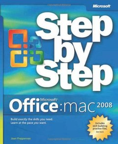 Office 2008 for Macintosh Step by Step (Paperback)-cover