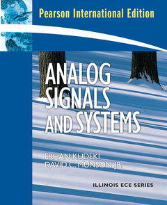 Analog Signals and Systems (IE-Paperback)