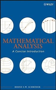 Mathematical Analysis: A Concise Introduction (Hardcover)-cover