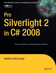 Pro Silverlight 2 in C# 2008-cover