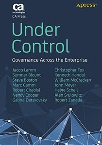 Under Control: Governance Across the Enterprise (Paperback)-cover
