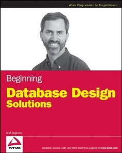 Beginning Database Design Solutions (Paperback)-cover