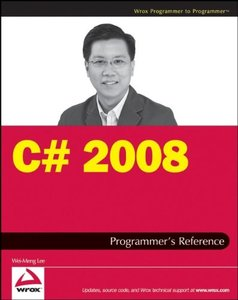 C# 2008 Programmer's Reference (Paperback)-cover