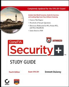 CompTIA Security+Study Guide: Exam SY0-201, 4/e (Paperback)-cover
