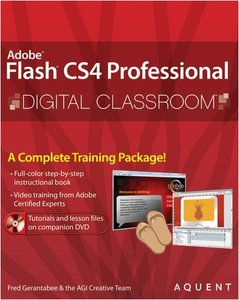 Flash CS4 Professional Digital Classroom (Paperback)-cover