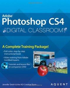 Photoshop CS4 Digital Classroom (Paperback)-cover