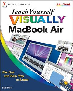 Teach Yourself VISUALLY MacBook Air (Paperback)-cover