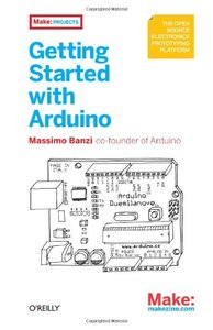 Getting Started with Arduino (Paperback)-cover
