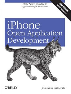 iPhone Open Application Development: Write Native Applications Using the Open Source Tool Chain, 2/e (Paperback)-cover