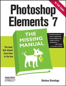 Photoshop Elements 7: The Missing Manual (Paperback)-cover