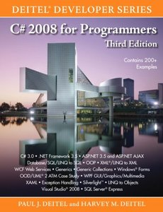 C# 2008 for Programmers, 3/e (Paperback)-cover