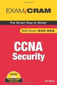 CCNA Security Exam Cram  (Exam IINS 640-553)-cover