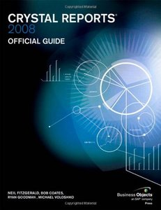 Crystal Reports 2008 Official Guide (Business Objects Press)-cover
