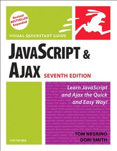 JavaScript and Ajax for the Web: Visual QuickStart Guide, 7/e (Paperback)-cover
