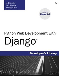 Python Web Development with Django (Paperback)-cover