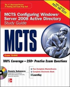 MCTS Windows Server 2008 Active Directory Services Study Guide (Exam 70-640) (Hardcover)-cover