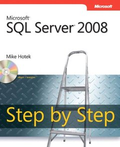 Microsoft SQL Server 2008 Step by Step (Paperback)-cover