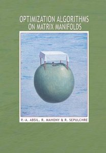 Optimization Algorithms on Matrix Manifolds (Hardcover)-cover