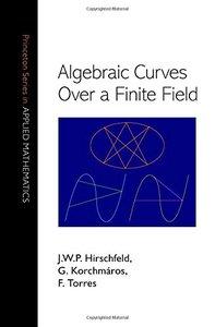 Algebraic Curves over a Finite Field-cover