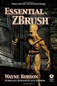 Essential ZBrush (Paperback)-cover
