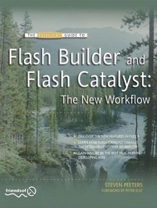 Flash Builder and Flash Catalyst: The New Workflow (Paperback)-cover