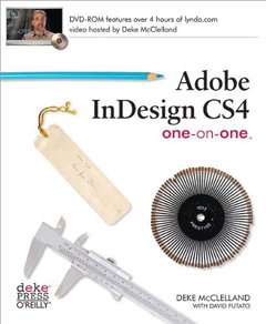Adobe InDesign CS4 One-on-One (Paperback)-cover