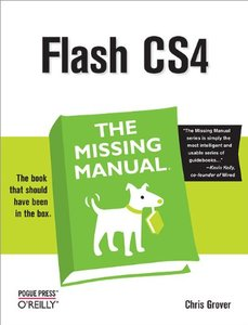 Flash CS4: The Missing Manual (Paperback)-cover