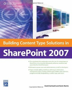 Building Content Type Solutions in SharePoint 2007 (Paperback)-cover
