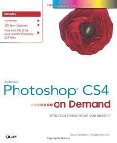 Adobe Photoshop CS4 on Demand (Paperback)-cover