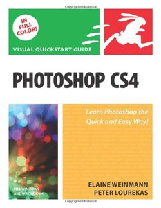 Photoshop CS4 for Windows and Macintosh: Visual QuickStart Guide-cover