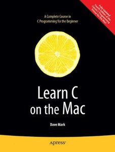 Learn C on the Mac (Paperback)-cover