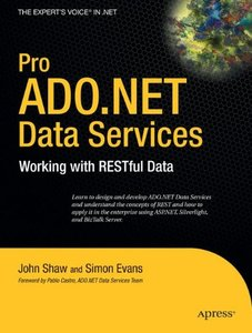 Pro ADO.NET Data Services: Working with RESTful Data (Paperback)-cover